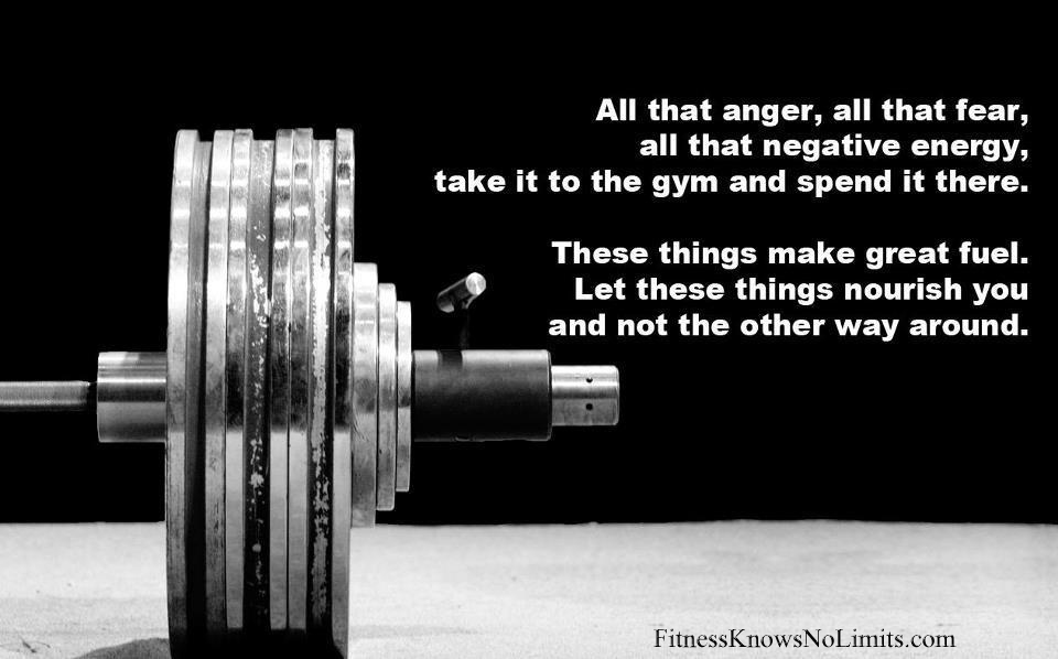 All That Anger, All That Fear, All That Negative Energy ...