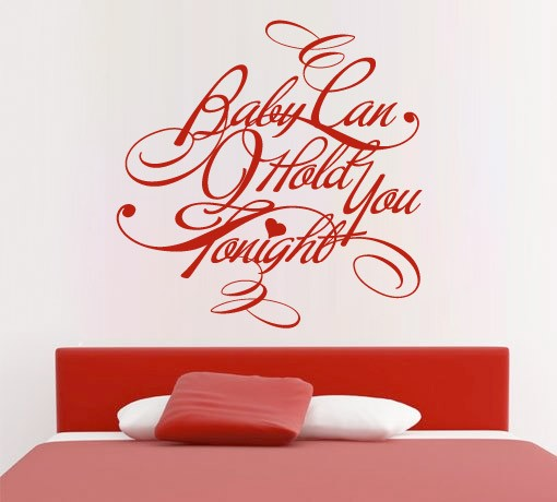 Baby Can Hold You Tonight