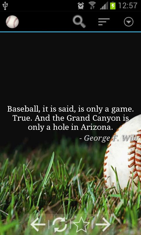 Baseball, It Is Said, Is Only A Game. True, And The Grand Canyon Is Only A Hole In Arizona