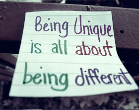 Being Unique Is All About Being Different