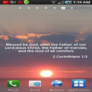 Blessed Be God, Even The Father Of Our Lord Jesus Christ, The Father of Mercies, And The God Of All Comfort. ~ Bible Quotes