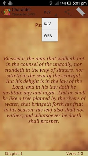 Blessed Is The ManThat Walketh Not In The Counsel Of The Ungodly, Not Standeth In The Way Of Sinners.. ~ Bible Quotes