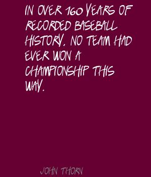 In Over 160 Years Of Recorded Baseball History, No Team Had Ever Won A Championship This Way.