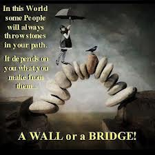 In This World Some People Will Always Throw Stones In Your Path. It Depends On You What You Make From Them