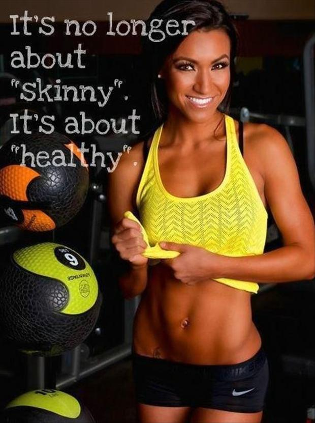 """It's No Longer About """"Skinny"""" It's About """"Healthy"""""""