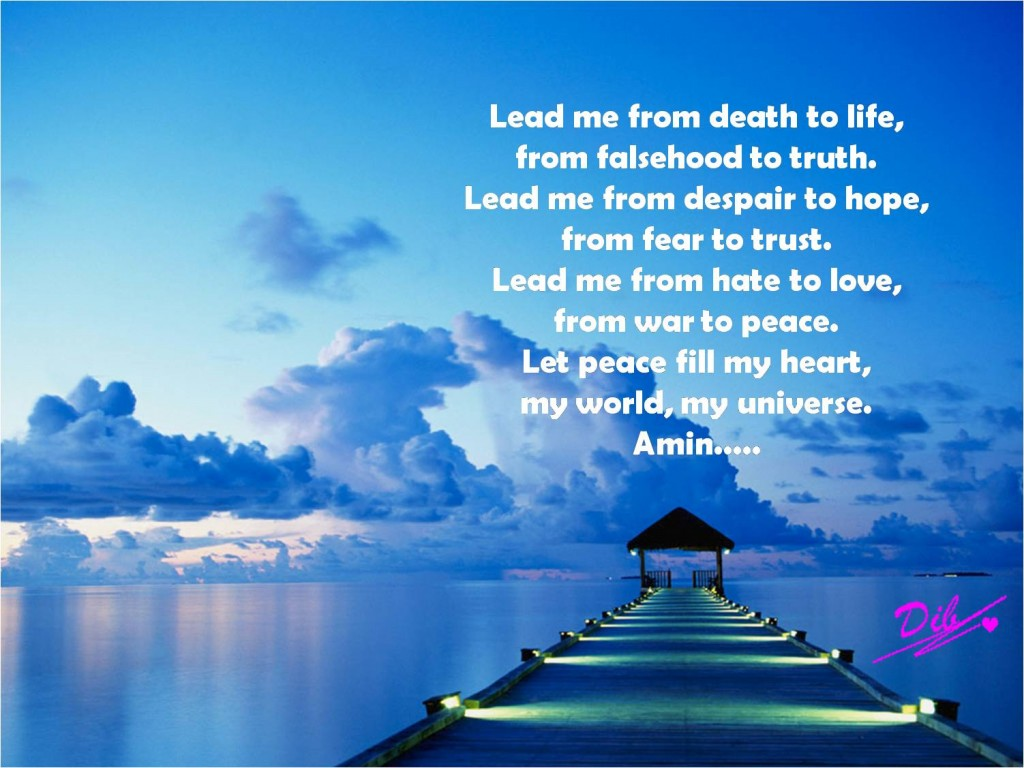 Lead Ne From Death To Life, From Falsehood To Truth