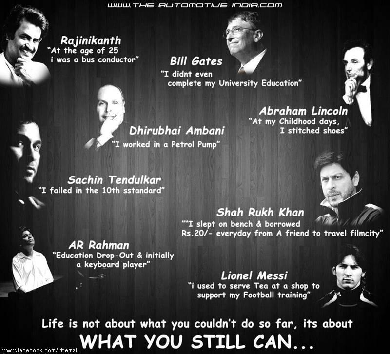 Life Is Not About What You Couldn't Do So Far, Its About What You Still Can