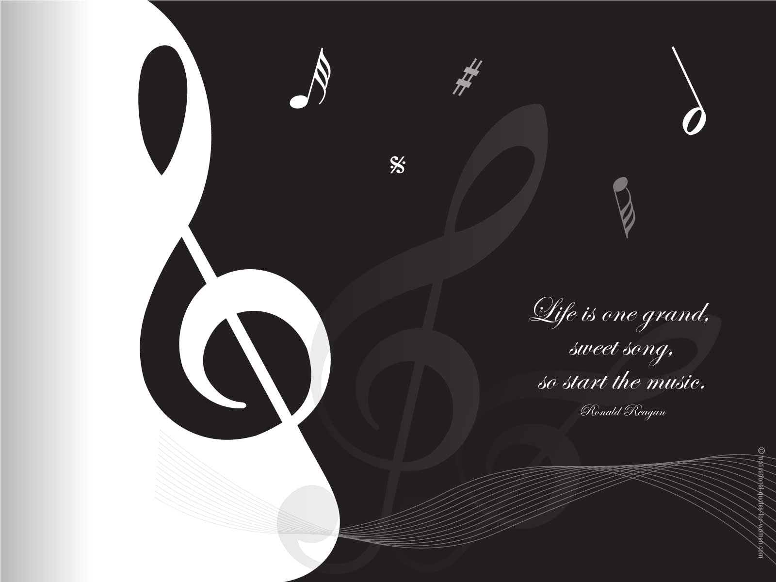 Elegant Life Is One Grand, Sweet Song. So Start The Music