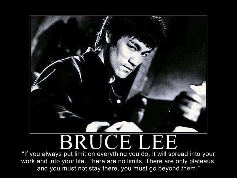 Motivational Quote Bruce Lee