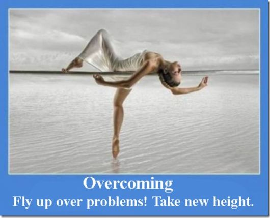Overcoming Fly Up Over Problems! Take New Height