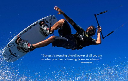 """Success Is Focusing The Full Power Of All You Are On What You Have a Burning Desire To Achieve"""