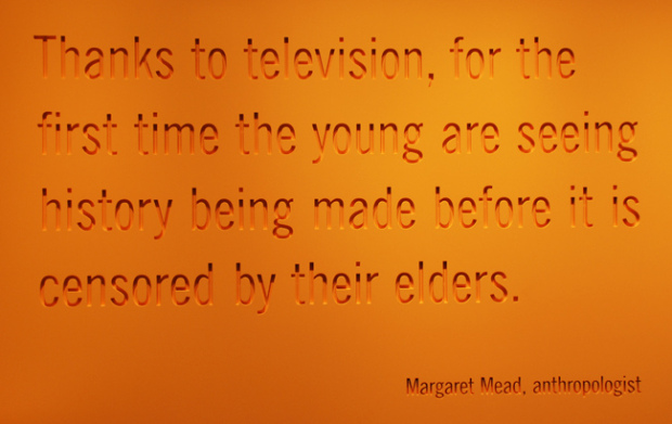 Thanks To Television For The First Time The Young Are Seeing History Being Made Before It Is Censored By Their Elders
