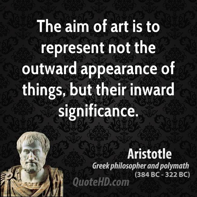 The Aim Of Art Is To Represent Not The Outward Appearance Of Things, But Their Inward Significance