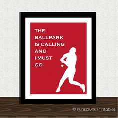 The Ballpark Is Calling And I Must Go