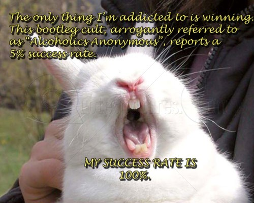 The Only Thing I'm Addicted To Is Winning ~ Animal Quote