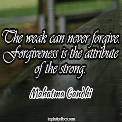 forgiveness is the attribute of the strong essay Attribute definition, to regard as resulting from a specified cause  especially with strong evidence but in the absence of conclusive proof:.