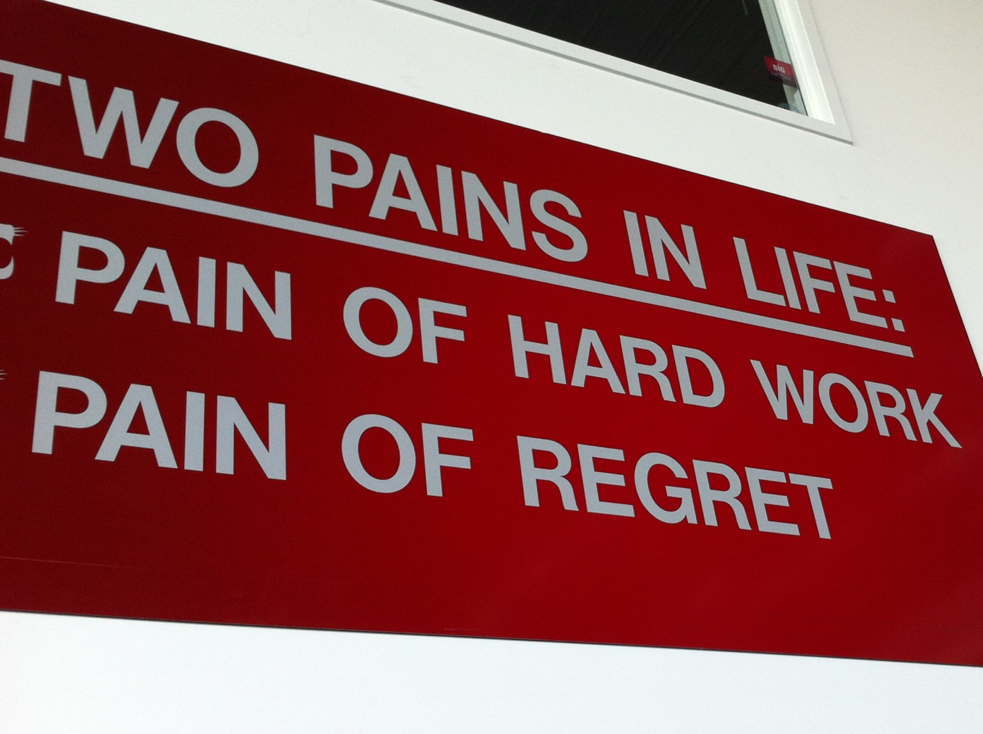Two Pains In Life Pain Of Hard Work And Pain Of Regret