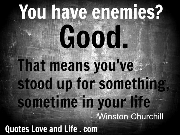 Nice Tumblr Quote by Eminem ~ You\'ve got enemies.. Good, It ...
