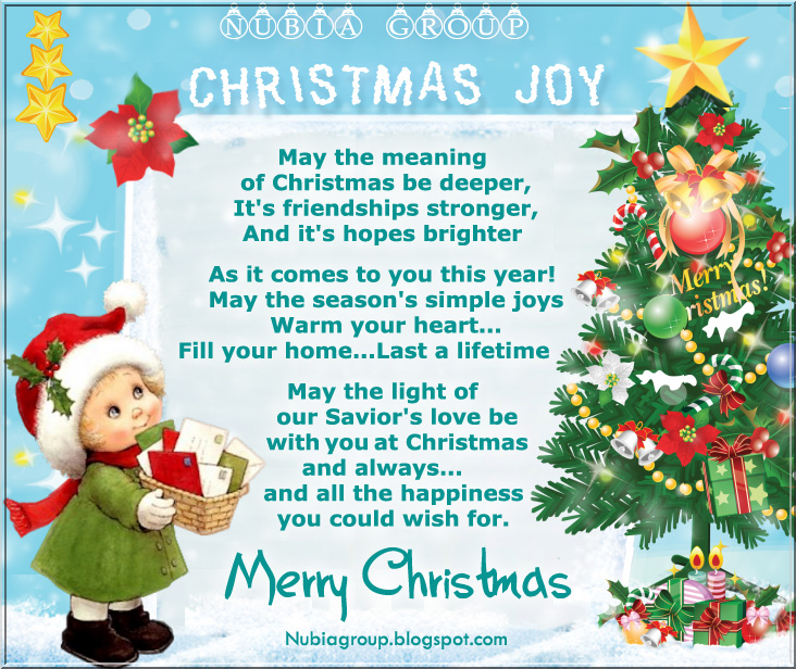 Christmas Joy, May The Meaning Of