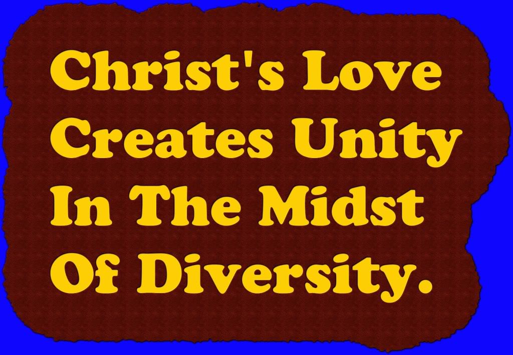 Unity in christ bible study