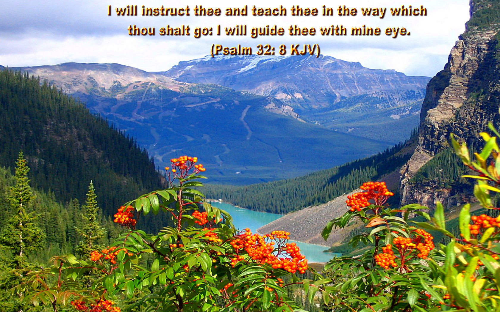 Bible quotes pictures and bible quotes images 41 i will instruct thee and teach thee in the way which thou shalt go i thecheapjerseys Choice Image