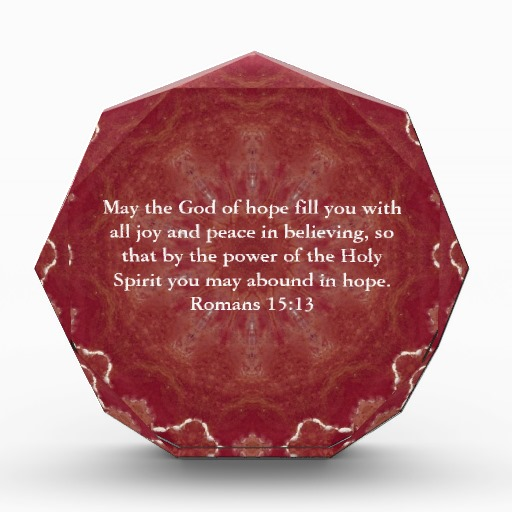The Power Of Hope Quotes: May The God Of Hope Fill You With All Joy And Peace In