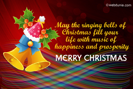 May The Ringing Bells Of Christmas Fill Your Life With Music Of