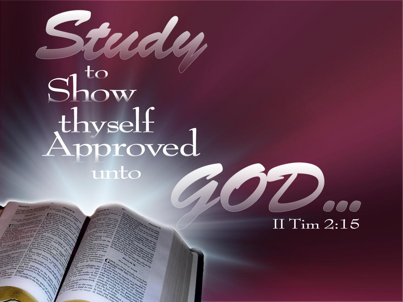Study To Show Thyself Approved God Bible Quote Quotespictures