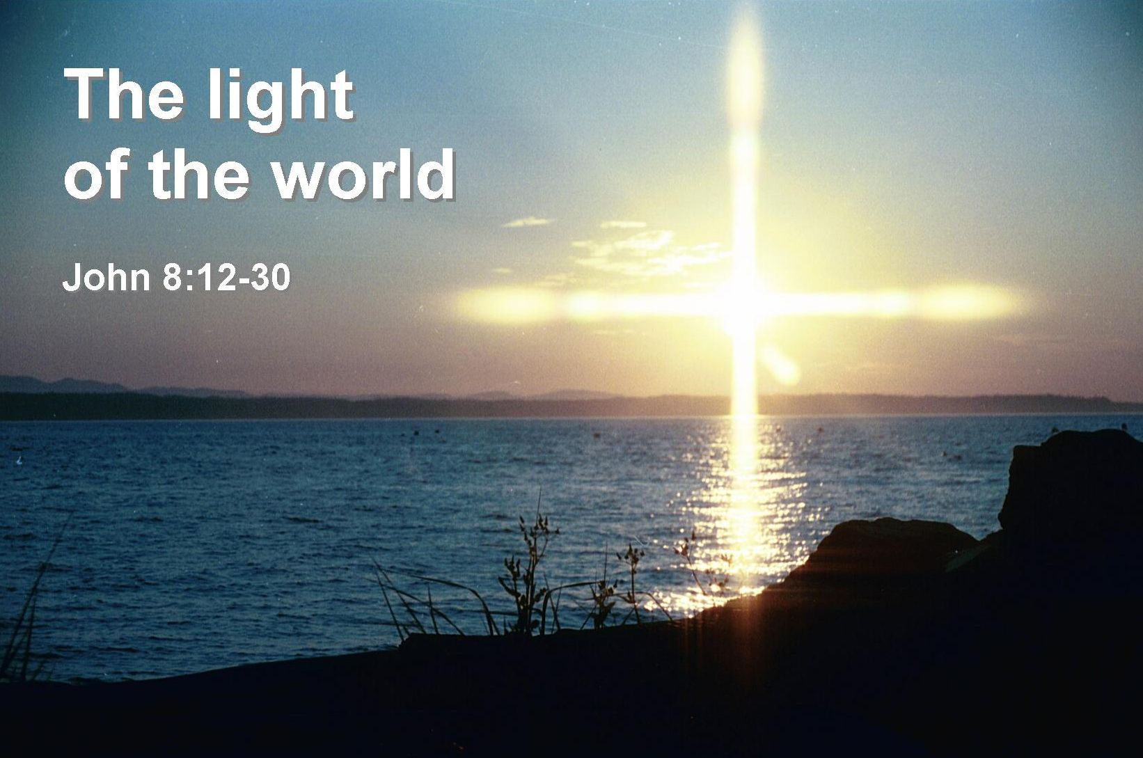 the light of the world bible quote