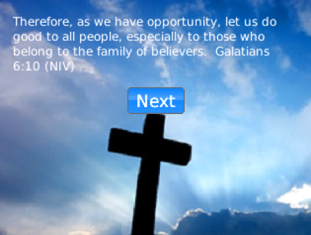 therefore as we have opportunity let us do good to all people