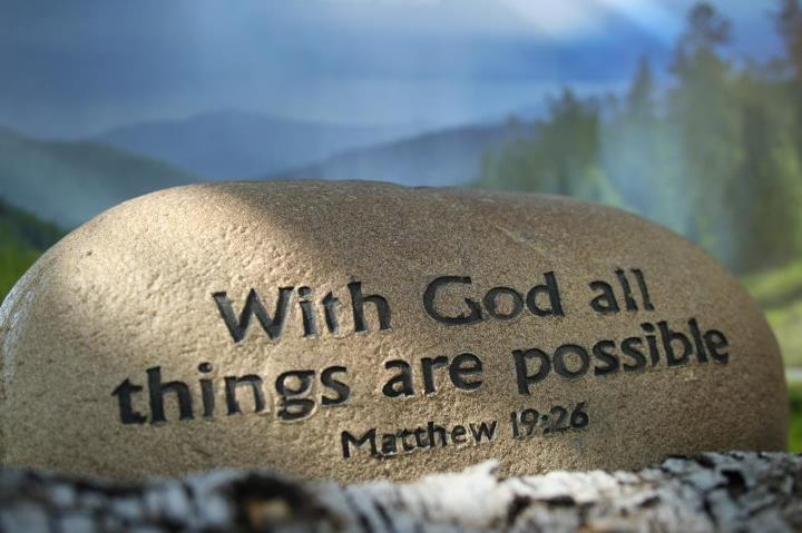 Bible Quote Extraordinary With God All Things Are Possible Bible Quote Quotespictures