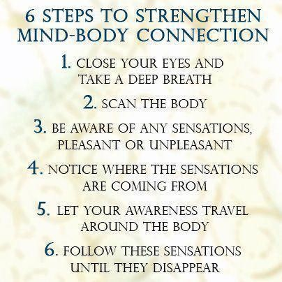 6 Steps To Strengthen Mind-Body Connection…