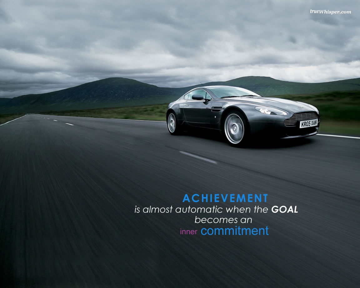 Achievement Is Almost Automatic The Goal Becomes An Inner Commitment.