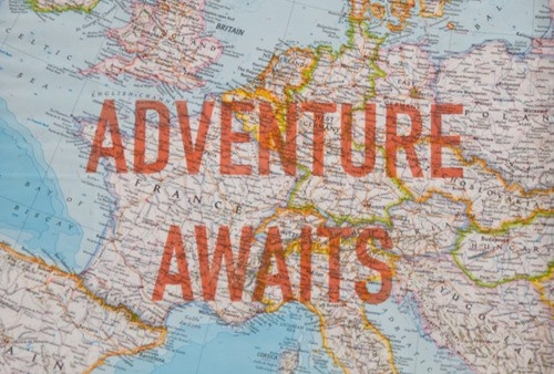 Adventure Awaits. ~ Camping Quote