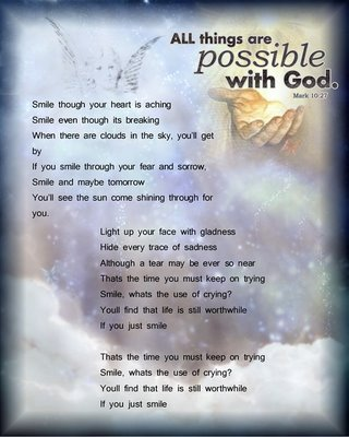 All Things Are Possible With God… ~ Angel Quote