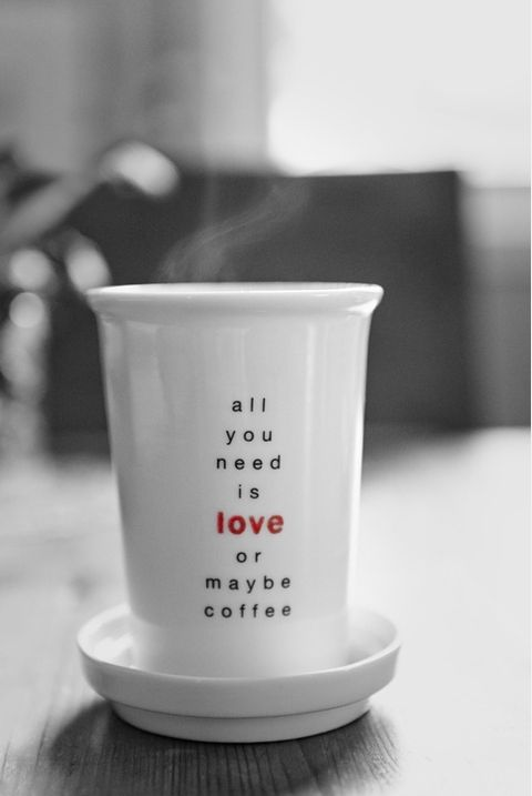 All You Need Is Love Or May Be Coffee