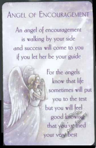 Angel Of Encouragement…