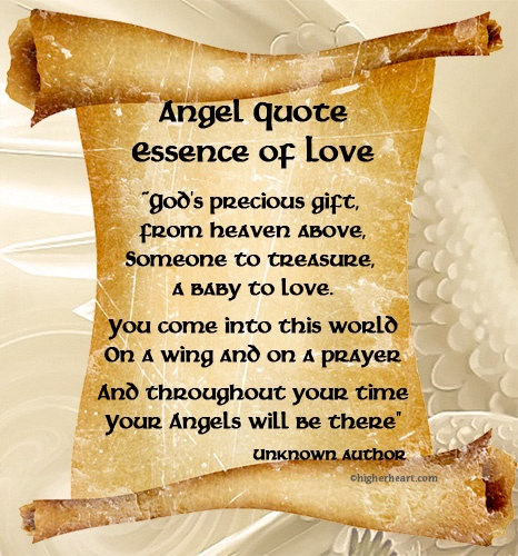 Angel Quote Essence Of Love