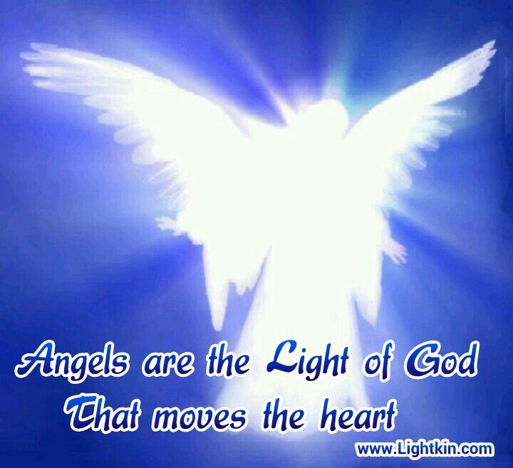 Angels Are The Light Of God That Moves The Heart.