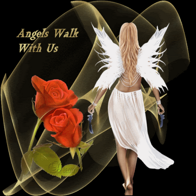 Angels Walk With Us.