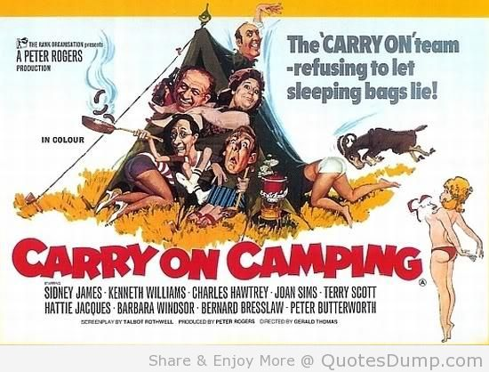 Carry On Camping…