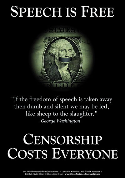 Censorship Costs Everyone.