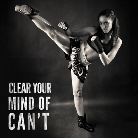Clear Your Mind Of Can't ~ Boxing Quote