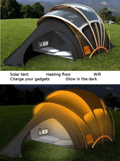 Creative Camping Tent Quote