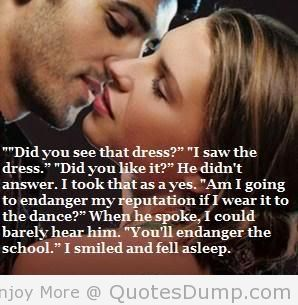 """"""" Did You See That Dress, I Saw The Dress. ' Did You Like It, He Didn't Answer…. ~ Charm Quotes"""