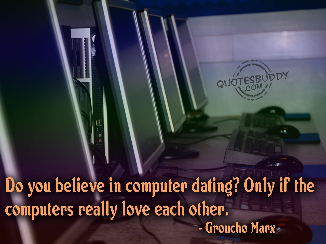 Do You Believe In Computer Dating! Only If The Computers Really Love Each Other