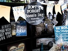 Don't Forget Boss's Day.
