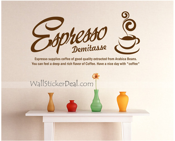 Espresso Supplies Coffee Of Good Quality Extracted From Arabica Beans….