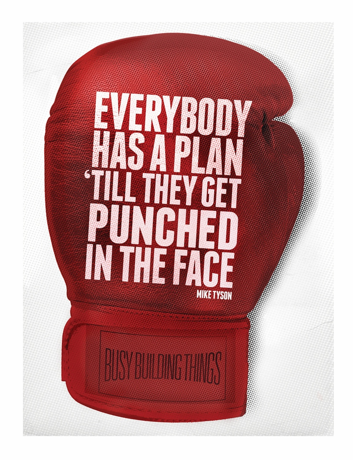 Everybody Has A Plan Until They Get Punched In The Face - Mike Tyson ~ Boxing Quotes