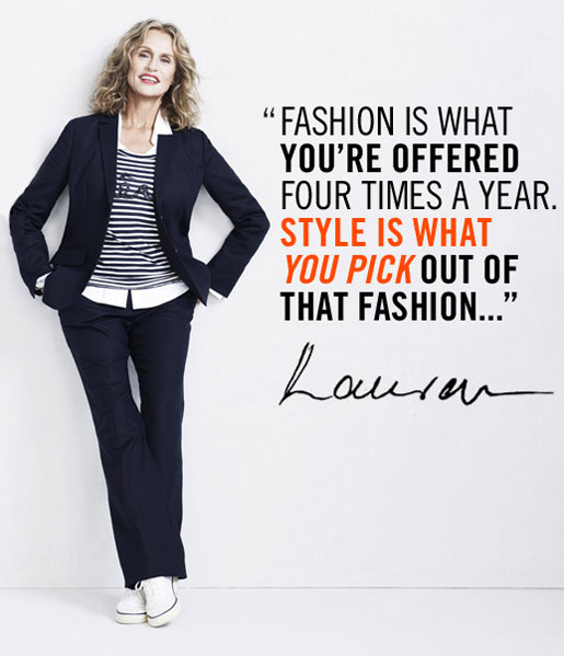 Fashion Is What You Re Offered Four Times A Year Style Is What You Pick Out Of That Fashion